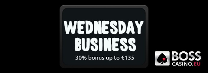 Boss Casino Wednesday Business