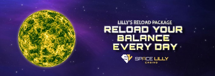 Space Lilly Up to 1000$ Cashback for first three (3) deposits