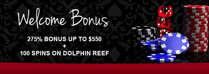 Red Stag Casino Welcome bonus