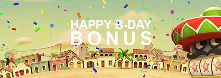 Loki casino Birthday Bonus